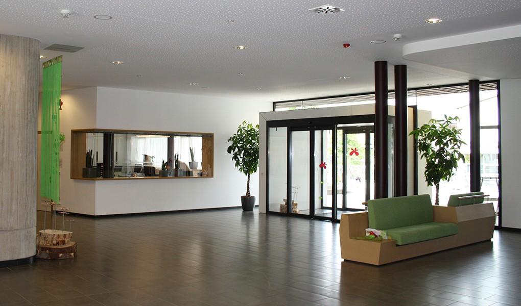 Innenausbau im Eingangsbereich