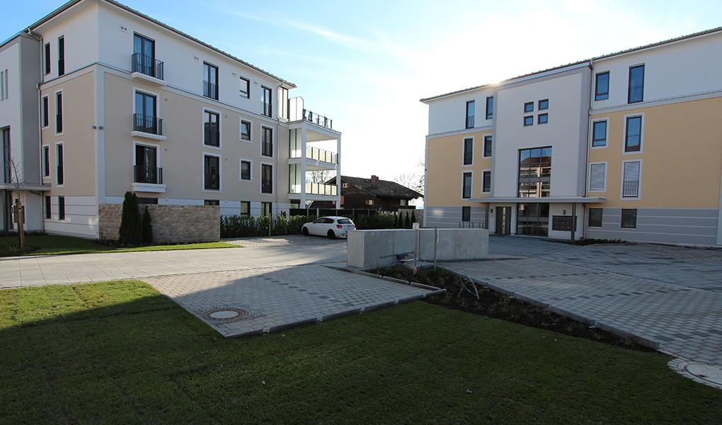 Wohnanlage Vier Stadtvillen Mühldorf
