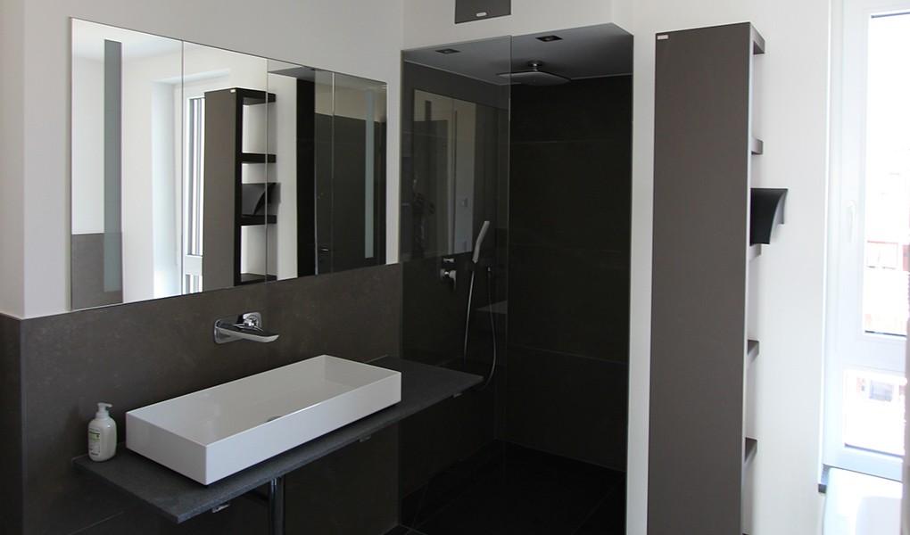 Sanitär-Installation in der Wohnanlage