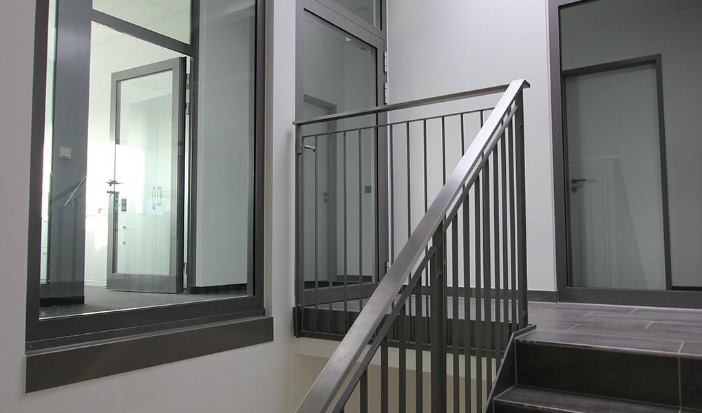 Innenausbau inklusive Türen und Fenster