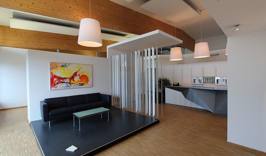 Neugestaltung eines Showrooms durch BELE INNENAUSBAU aus Mühldorf