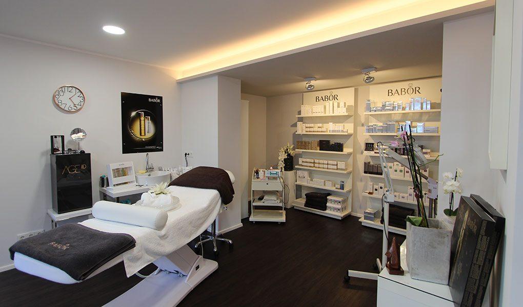 Kosmetikstudio mit gehobenem Ambiente