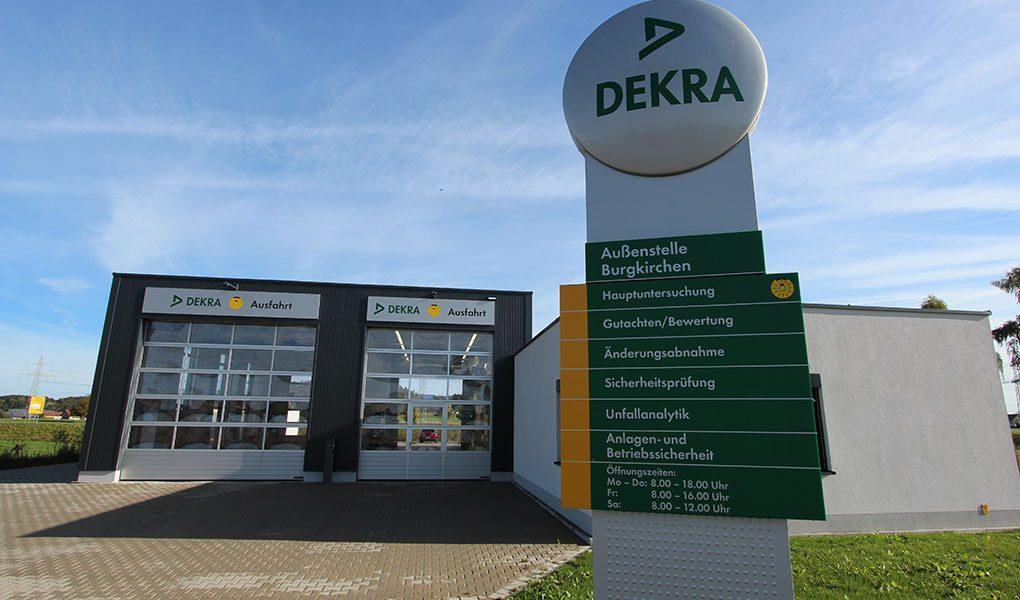 Neubau Außenstellen DEKRA